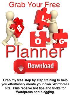 Blog planner tips