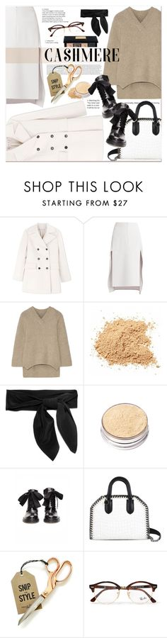 """#Cashmere - Cozy Sweater"" by stylemeup-649 ❤ liked on Polyvore featuring Marni, BCBGMAXAZRIA, ADAM, Chloé, Chantecaille, A.F. Vandevorst, STELLA McCARTNEY, Ray-Ban and Christian Dior"