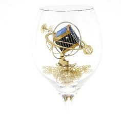 Poland-based artist Szymon Klimek creates machines tiny enough to fit into wine goblets