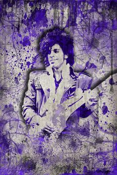 Prince Images, Pictures Of Prince, Pop Art Posters, Music Posters, The Artist Prince, Star Painting, Prince Purple Rain, Pop Rock, Prince Rogers Nelson