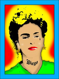 Okay. First of all, Frida died first, so why the hell would she have the teardrop tattoo?