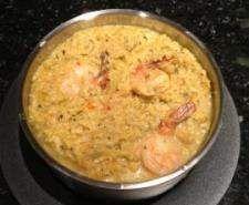 Rotes Thai Curry Risotto mit Garnelen Rezept des Tages vom 07.10.15