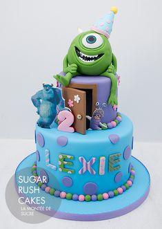 Monsters University Cake More