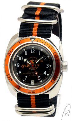 Russische Uhr Vostok-special Diver watch 2416/710380Bor Nato_Bor 1