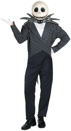 Be the Nightmare Before Christmas-Jack Skellington.. The Nightmare Before Christmas Jack Skellington Deluxe Adult Halloween Costume