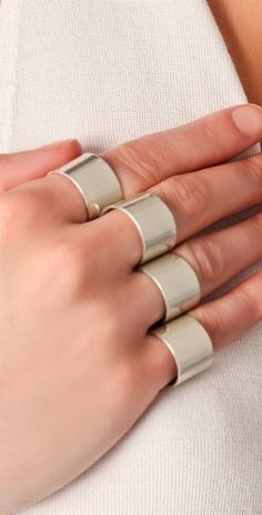 4 Finger Rings