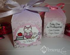 Caixinha porta bombom Professora Floral Lunch Box, Container, Gift Wrapping, Floral, Gifts, 1, Silhouette, Chocolate, Teacher Name