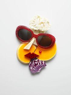 Food Art et Lunettes de Soleil Ete 2013 par Philip Karlberg