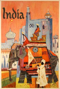 INDIA - ELEPHANT by HALL