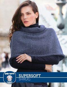 Free patterns SuperSoft – Shrug | Knitting Fever Yarns & Euro Yarns