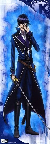 K Project - Munakata Reisi Official Art