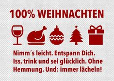 100% Weihnachten | Frohe Weihnachten | Echte Postkarten online versenden…