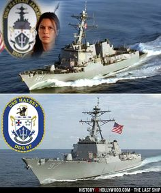 The Last Ship TV show's USS Nathan James might be a fictional US Navy ship, but a real ship, the USS Halsey, portrays it on the TV show starring Eric Dane and Rhona Mitra.