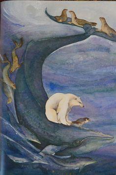 whaletail Jackie Morris