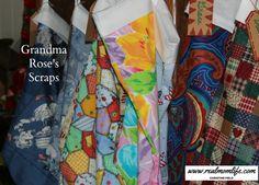 Grandma Rose's Scraps - http://www.realmomlife.com/grandma-roses-scraps/