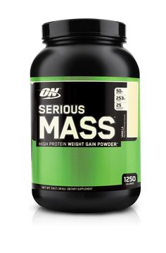 Are you a hardgainer or ectomorph looking to bulk up? If so Serious Mass from Optimum Nutrition is the supplement for you. It packs in an obscene 1,250 calories per serving (more than any other weight gainer on the market) and offers excellent value for money. Read more in our latest review…  http://www.gym-talk.com/optimum-nutrition-serious-mass-review/