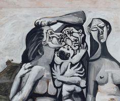 Pablo Picasso, Massacre in Korea (detail, 1951)