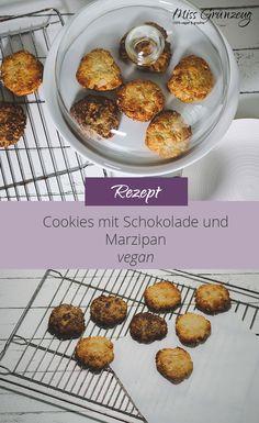 Besser oder zumindest genauso gut wie alle gekauften Cookies. Versprochen! Vegane Cookies selbst zu machen ist ganz einfach. Probiere es aus! Marzipan, Leaky Gut, Muffin, Breakfast, Food, Soy Milk, Almonds, Play Dough, Vegane Rezepte