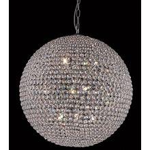 Pendente Bola Cristal 60 cm