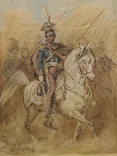 General Poniatowski - Juliusz Kossak