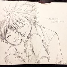 The last pages of my sketchbook dedicated to kawoshin with Ed Sheeran lyrics ;A; these two will actually be the death of me i love them so much