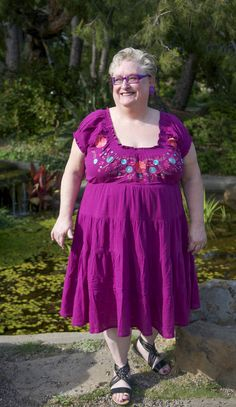 I Love My Size 4X Peasant Dress #plussizeblogger #plussizefashion