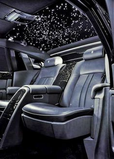 Starlight headliner has 1,340 hand-woven fiber optic lights