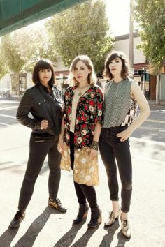 Sleater-Kinney, No Cities to Love tour. March 2015, AE Stage in Pittsburgh, PA.