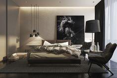 Dark bedroom theme