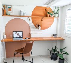 Home Office Design, Home Office Decor, House Design, Home Office Paint Ideas, Interior Office, Office Ideas, Decoration Inspiration, Wall Paint Inspiration, House Rooms