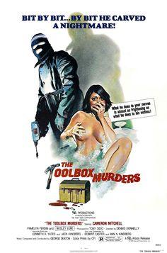 The Toolbox Murders (1978) #horrorfilms #movieposters #horror
