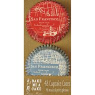 city cupcakes. unionstreetpapery / SAN FRANCISCO ITEMS