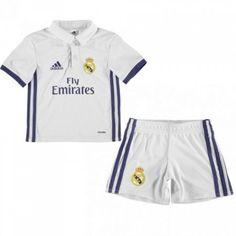 #Real Madrid Trøje Børn 16-17 Hjemmebanesæt Kort ærmer.199,62KR.shirtshopservice@gmail.com
