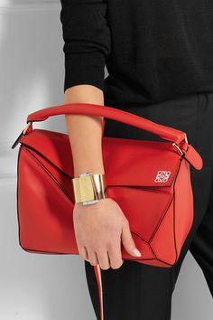 Loewe | Puzzle small leather shoulder bag | NET-A-PORTER.COM