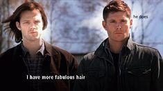 supernatural sam hair