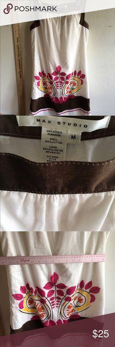 Max studio cute dress floral w slip! Med Max studio cute dress floral w slip! Max Studio Dresses Midi