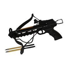 PSE Zombie Defense Pistol Crossbow, Black/Green, Large