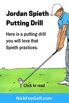 Learn Tiger Woods golf putting drill that will fix your putting stroke and help you start putts on line. This golf drill is challenging but can help your short game Training Schedule, Golf Training, Weight Training, Golf Mk4, Golf Putting Tips, Golf Practice, Golf Instruction, Golf Exercises, Exercise Workouts