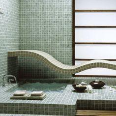 Mosaïque traditionnelle dans ma salle de bains