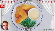 The Doctor's love for fish fingers and custard is celebrated in @TheBoyWhoBakes' fab #BBCOneBakeover treat. #GBBO pic.twitter.com/19xPaXPIOq