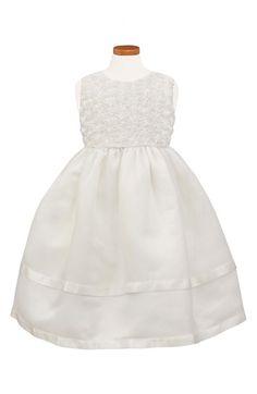 Sorbet Sleeveless Organza Dress (Big Girls) available at #Nordstrom