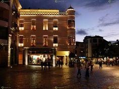 Ver y Conocer Extremadura - Foto - Plaza Mayor de noche (221468)