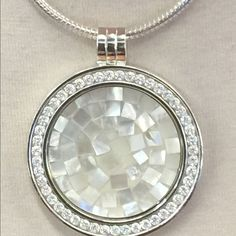 Open heart coin pendant with cz necklace coins the ojays and carlo biagi coin necklacesale today carlo biagi coin necklace 33 inch stainless steel chainmother aloadofball Images