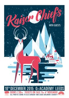 Kaiser Chiefs winter gig poster for their hometown show <3 sent in their email containing a presale link http://www.ticketweb.co.uk/event/202903?language=en-us