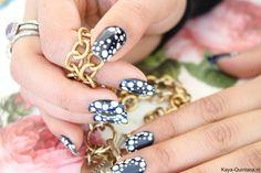 donker blauwe nagellak opi