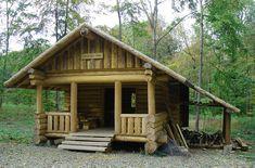 Fotos de casitas de madera pequeñas con diseño de cabaña ...