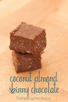 Skinny chocolate variations