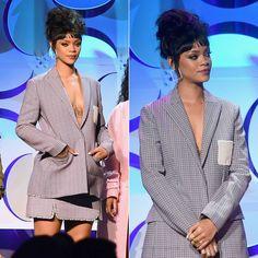 Rihanna Attends Tidal Start In Dior Spring 2015 - http://forwomanslife.com/rihanna-attends-tidal-start-in-dior-spring-2015/