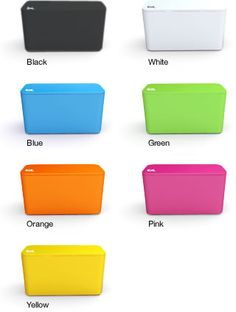 Bluelounge - CableBox Mini: Liven up your space