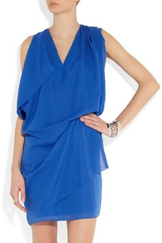 Yes - this summer with flats - perfect!  Acne Mallory crepe de chine dress NET-A-PORTER.COM